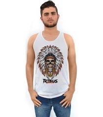 camiseta ramavi regata tribo branca