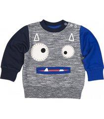 bluza little vampire sweatshirt grey