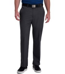 cool right performance flex classic fit flat front pant