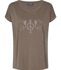 t-shirt alba bruin