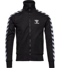 atlantic zip jacket n sweat-shirt trui zwart hummel