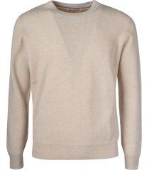brunello cucinelli ribbed knit plain sweater