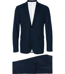 dsquared2 two-piece capri suit - blue
