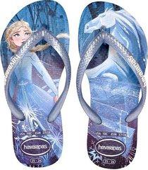 sandalias havaianas  slim nautical  azul  4137266