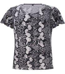 camiseta mujer estampada piton