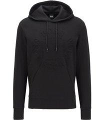 boss men's sly regular-fit hooded sweatshirt