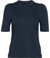 rodebjer dory t-shirts & tops short-sleeved blauw rodebjer