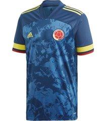 camiseta adidas selección colombia color azul junior