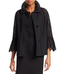 broderie anglaise jacket