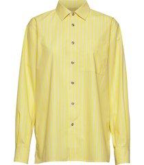 jokapoika 2017 shirt overhemd met lange mouwen geel marimekko