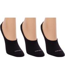 dkny microfiber liner socks 3 pk