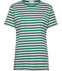 lyhythiha shirt t-shirts & tops short-sleeved groen marimekko