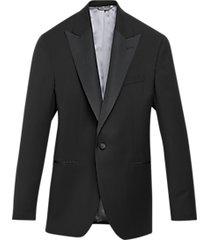 black by vera wang slim fit tuxedo jacket black