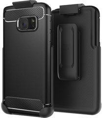 belt clip holster for spigen rugged armor case - samsung galaxy s7 (case not inc