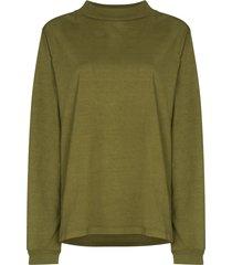 les tien high-neck sweatshirt - green