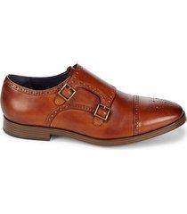 jefferson grand double monk strap dress shoes