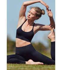 hunkemöller hkmx make me zen sportleggings med hög midja svart