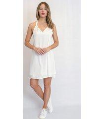 vestido blanco agustina dominguez penedes