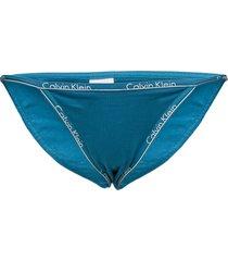 bikini string 2uu trosa brief tanga blå calvin klein