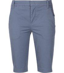 vince coin pocket bermuda shorts - blue