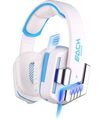 audífono diadema gamer g8200 vibración led