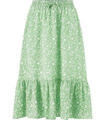 kjol onlnadja-addiction long aop skirt