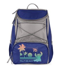 oniva by picnic time disney's lilo & stich palm beach ptx backpack cooler