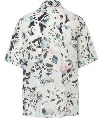 blouse 100% katoen korte mouwen van mayfair by peter hahn wit