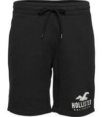tech logo shorts shorts casual svart hollister