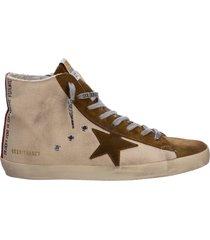 scarpe sneakers uomo in pelle francy