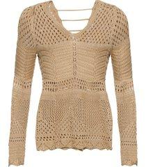 maglione traforato (oro) - bodyflirt