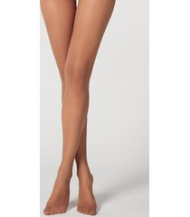 calzedonia 20 denier ultra comfort sheer tights woman brown size 4