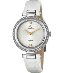 reloj cosmopolitan blanco jaguar