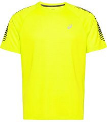 icon ss top t-shirts short-sleeved gul asics