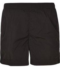 c.p. company ribbed waist shorts