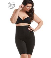 cinta mondress lingerie modeladora de perna e cintura alta preto