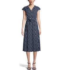 women's anne klein tie waist midi dress