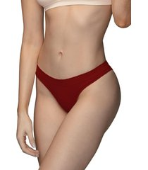 calcinha biquãni ultraleve demillus 53306 carmim - vermelho - feminino - dafiti