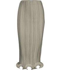 alberata knälång kjol grå totême