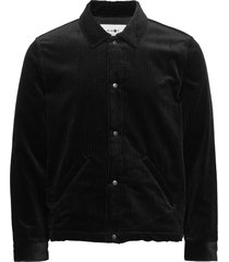 adler 1320 jeansjack denimjack zwart nn07