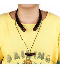 audífonos inalámbricos, auriculares audifonos bluetooth manos libres  sport auricular inalámbrico auricular para teléfono auriculares bajos con micrófono (negro)