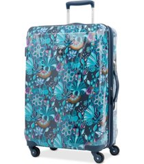 "atlantic infinity lite 3 lotus temple 25"" hardside spinner suitcase, created for macy's"
