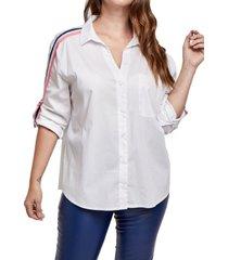camisa blanca mamy blue cepheus