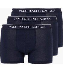 polo ralph lauren classic trunk 3-pack boxershorts navy