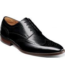 zapato sorrento wingtip oxford negro florsheim