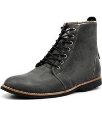 coturno style shoes grand em couro masculino