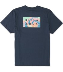 billabong men's diecut logo graphic t-shirt