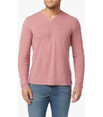 men's wintz long sleeve henley t-shirt