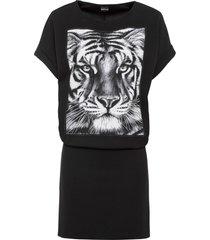abito stampato (nero) - bodyflirt