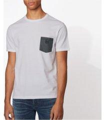 boss men's tdenim cotton t-shirt